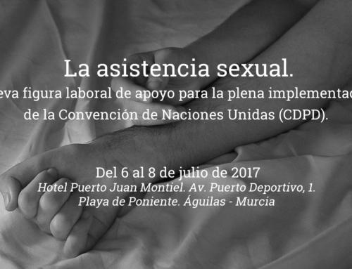 La asistencia sexual. Nueva figura laboral de apoyo para la plena implementación de la Convención de Naciones Unidas (CDPD).