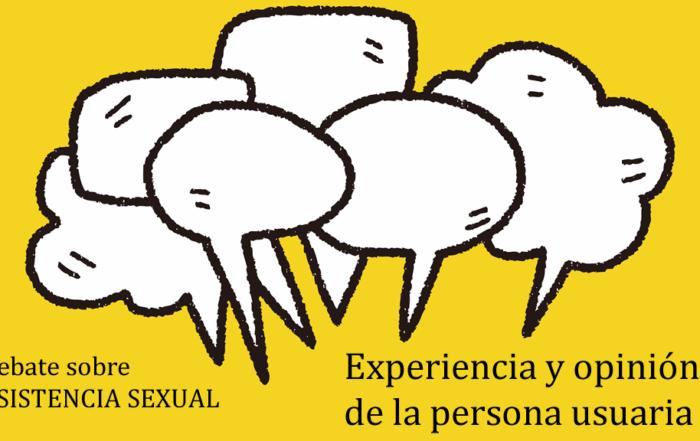 Debate asistencia sexual