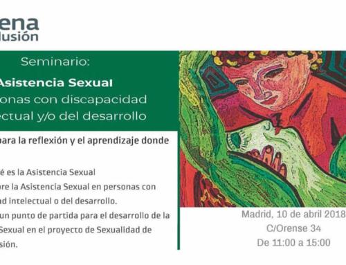 Seminario: asistencia sexual y personas con discapacidad intelectual y/o del desarrollo