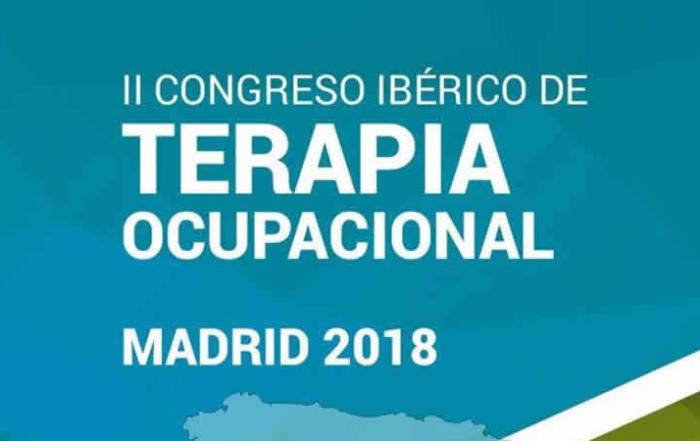 Cartel del segundo congreso ibérico terapia ocupacional