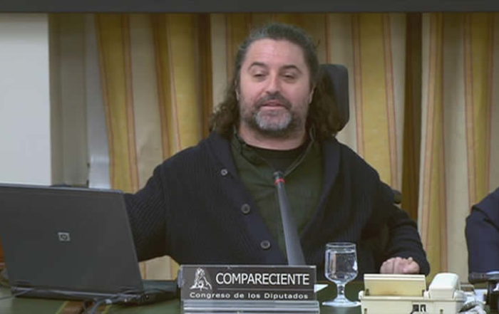 Antonio Centeno durante la comparecencia