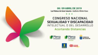 Cartel del Primer Congreso Nacional Sexualidad y Discapacidad Intelectual o del Desarrollo