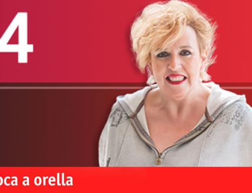 Violeta (asistente sexual) y Antonio Centeno en 'De Boca a Orella'