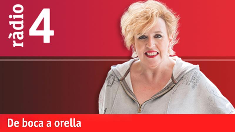 Sílvia Tarragona, presentadora del programa 'De boca a orella'
