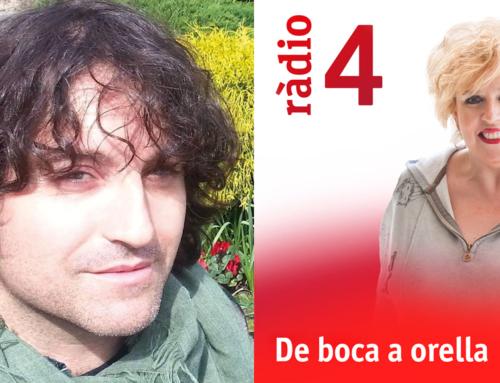Antonio Centeno en el programa fin de temporada de 'De Boca a Orella'
