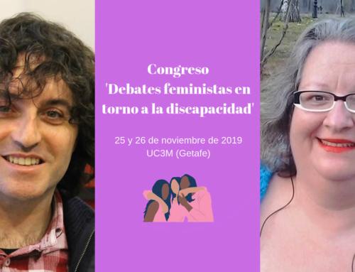 Congreso Debates Feministas en torno a la Discapacidad