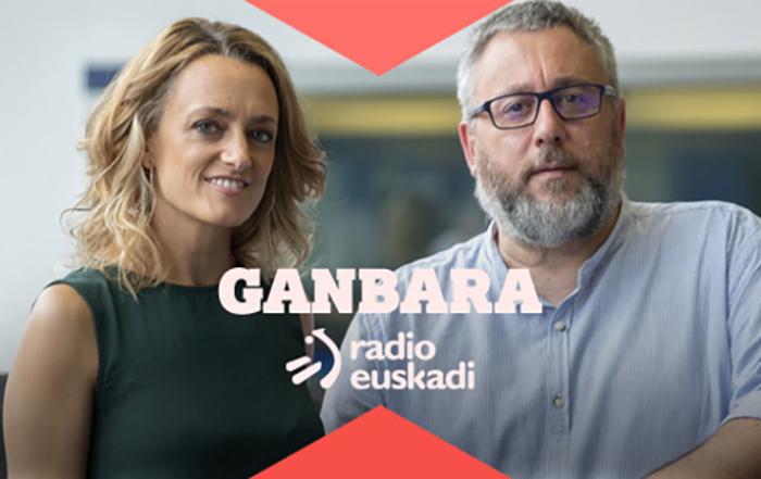 José Luís Fonseca y loreto Larumbe del Programa Gambara