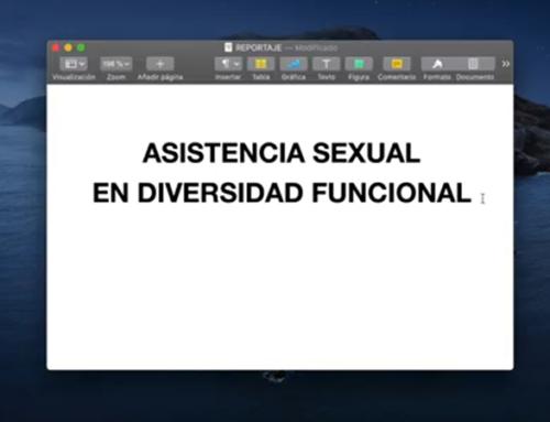 Asistencia sexual en diversidad funcional: ¿un derecho?