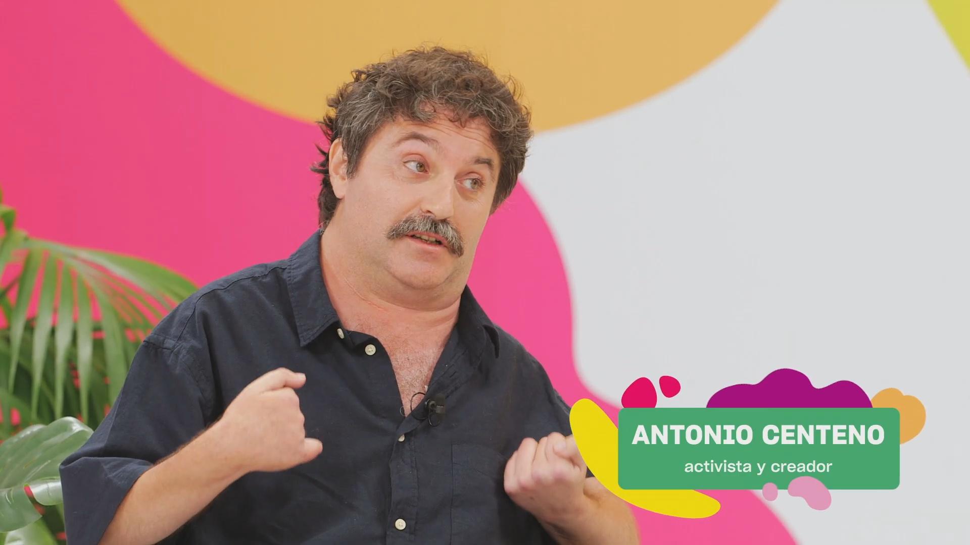 Fotograma de la intervención de Antonio Centeno en el programa
