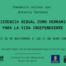 Cartel de la ponencia La asistencia sexual como herramienta para la vida independiente