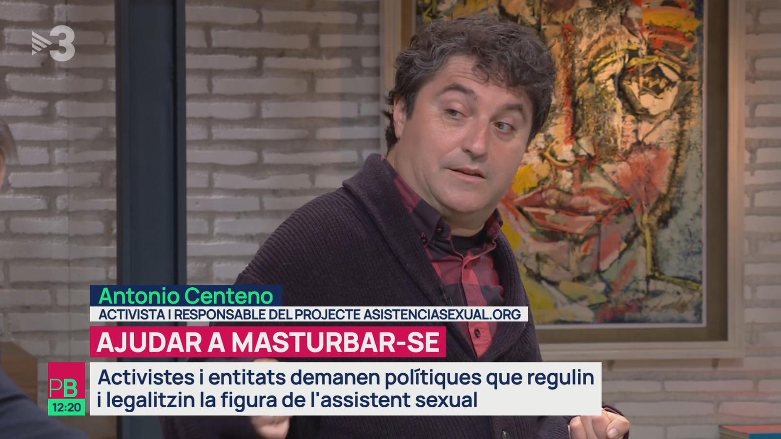 Antonio Centeno durante su intervención en el programa