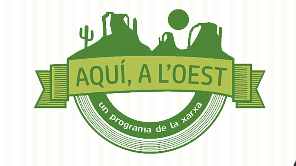 Logotipo del programa 'Aquí a l'Oest'