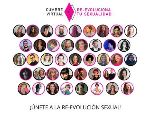 Cumbre virtual Re-evoluciona tu sexualidad